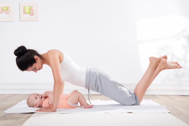mama  i beba vježbe